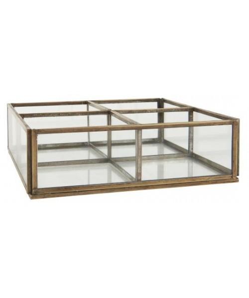 IB Laursen - Glasbox mit 4...