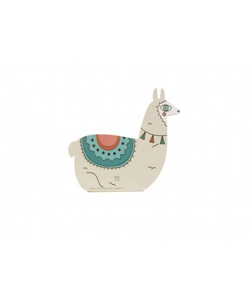 Notizblock - Oversized Lama