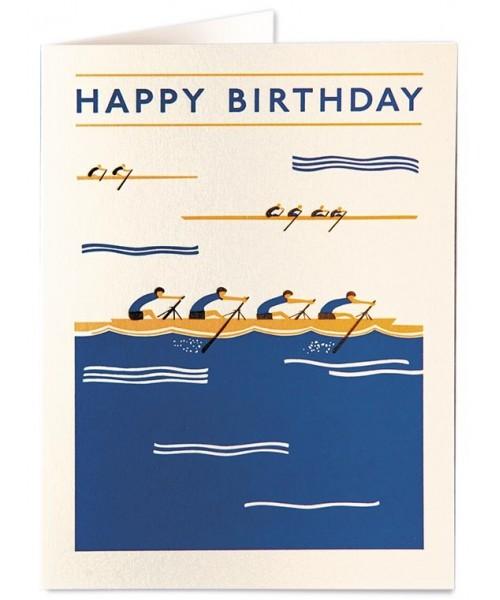 Grußkarte - Rowers Happy...