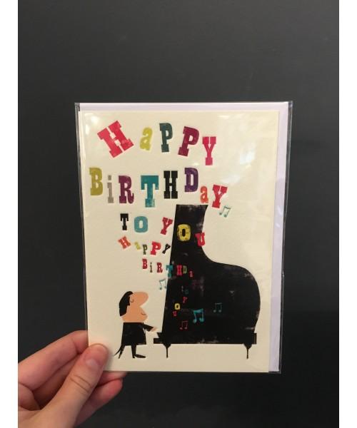 Grußkarte - Happy Birthday...