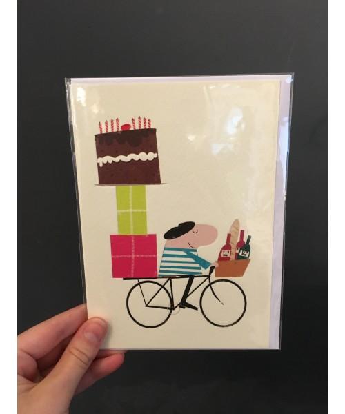 Grußkarte - Birthday Bike