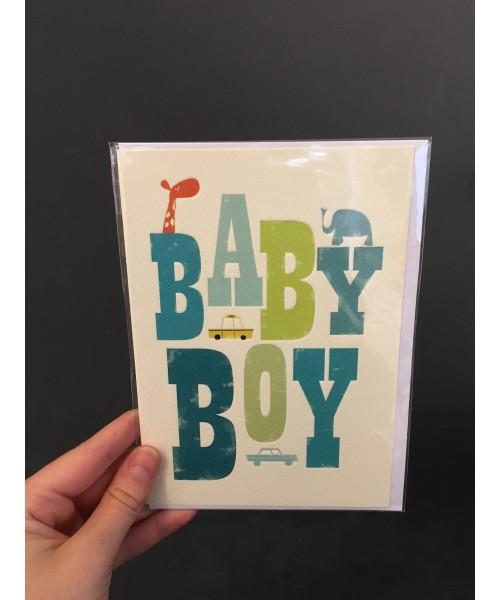 Grußkarte - Baby Boy