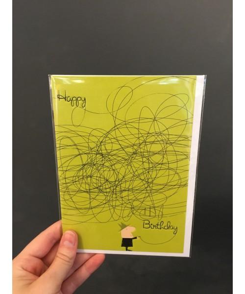 Grußkarte - Artist Happy...