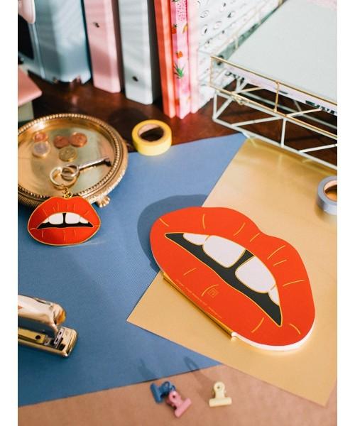 Notizblock - Oversized Lips