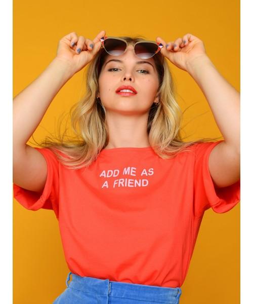 "T-Shirt ""Add me"""