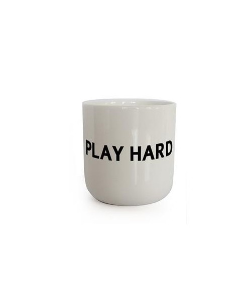 "Playtype - Tasse ""Play Hard"""