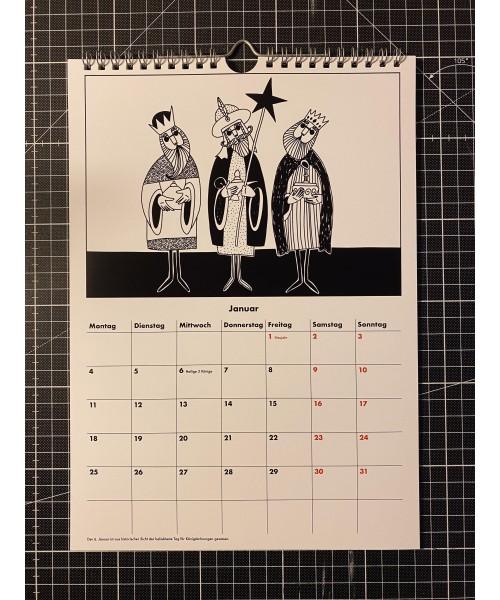 Kalender - Ready for new...