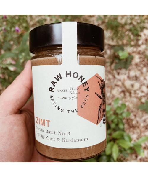 RAW HONEY No 3 - Zimt 400g