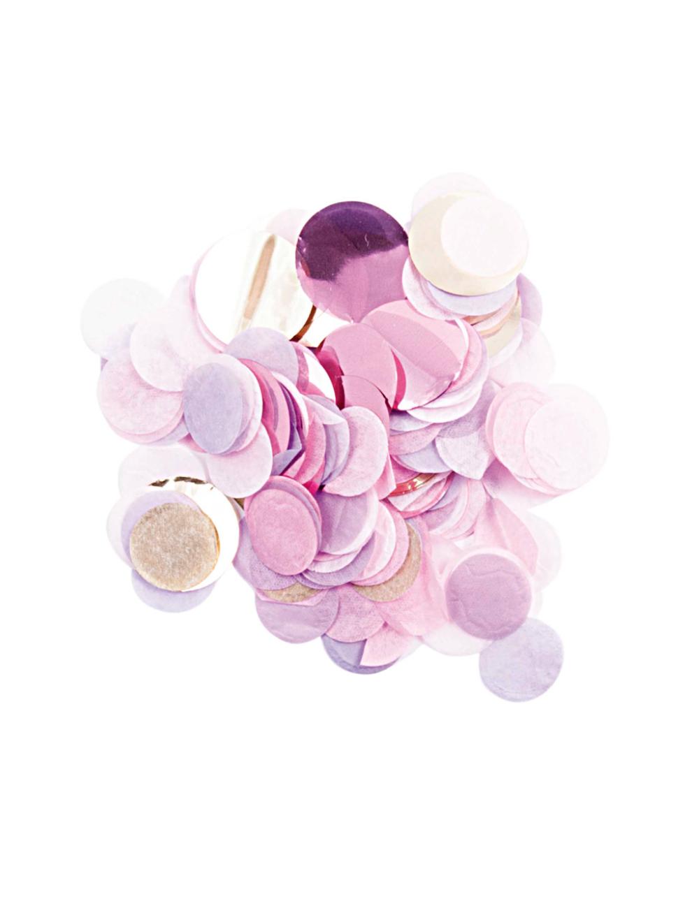 Confetti - rosa metallic mix