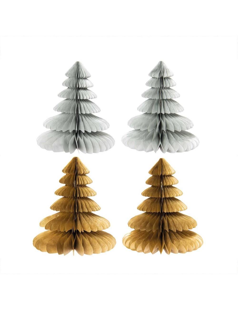 Tannenbäume 2-er Set Papier