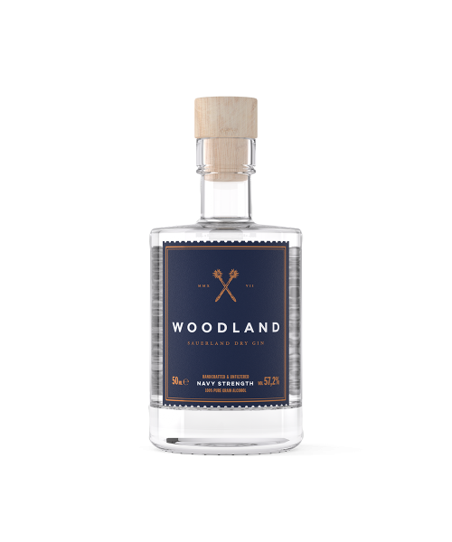 Woodland Dry Gin Navy...