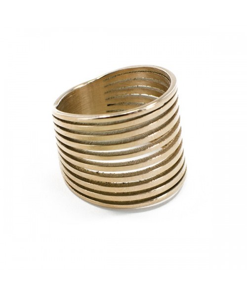 "Ring ""Mehrreihig"" Rosé  Gr. 58"