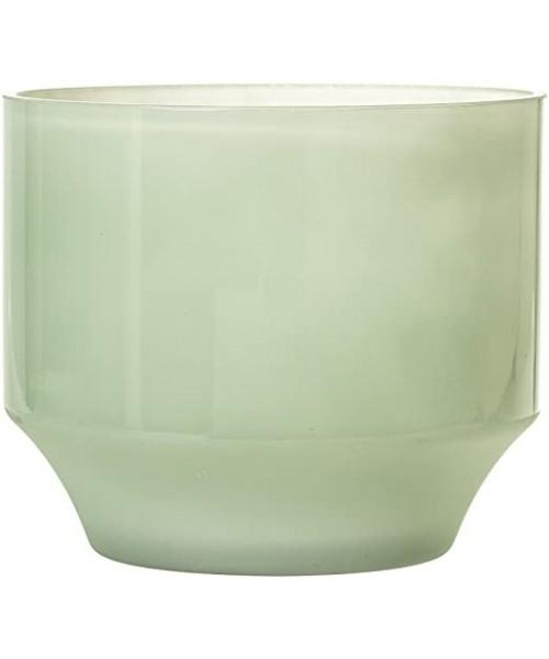 """Blumentopf Glas """"Grün"""""""