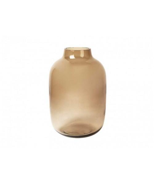 "Vase Glas ""Braun"""