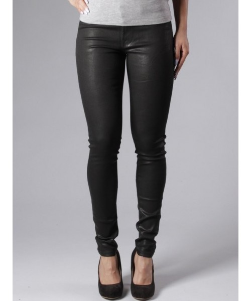 "Jeans ""Ania"" - black coated"