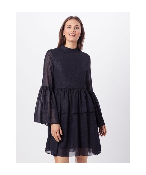 Kleid - Kourtney Glitter Black