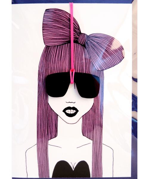 Grußkarte - Lady Gaga