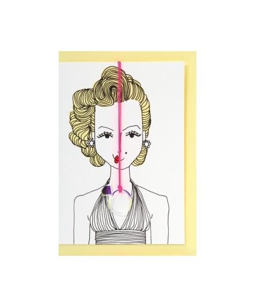 Grußkarte - Marilyn Monroe