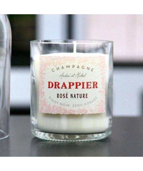 """Duftkerze """"Drappier Rosé"""" -..."""