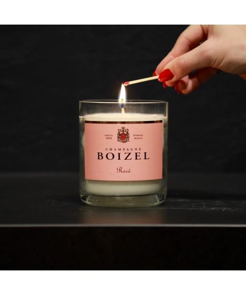 """Duftkerze """"Boizel Rosé"""" -..."""