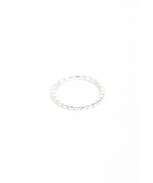 Ring - Notch silber